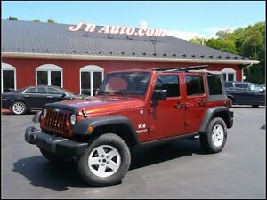 2007 Jeep Wrangler X Unlimited Trail Rated 4x4