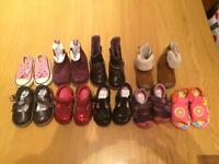 Girls shoe and boots bundle size 3