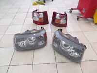 2006 RANGE ROVER SPORT FRONT AND REAR LIGHTS IN GOOD WORKING ORDER REMOVED FOR FACELIFT