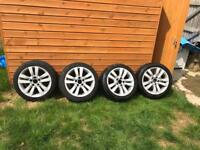 "Genuine Bmw Staggered 17"" alloys"