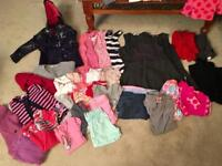 Large bundle of girls clothes over 70 items 4-5yrs Next, M&S & other brands