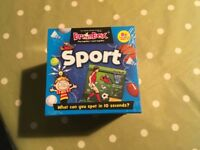 Brainbox Sport memory game