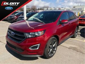 2017 Ford Edge SPORT | CPO | AWD | Leather | Navi | Pano Roof