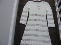 New With Tags Miss Selfridge Knitted Dress Size 6 (Would Look Nice If Worn Over Leggings).