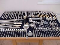 cutlery, over four hundred pieces.