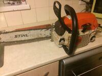 Stihl ms 261c chainsaw