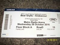 Bear Grylls - Endeavour Tour Ticket Newcastle