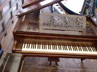 COLARD COLLARD LARGE ANTIQUE GRAND PIANO