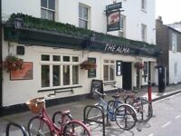 Bar Staff required to work at one of Cambridge's friendliest pubs, starting September/October.