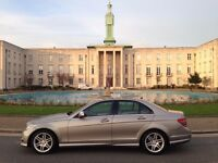 Mercedes C class c200 AMG, Mint cond., extra AMG alloy and tyre, two keys, exclusive colour, loads o