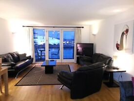 Amazing 2 bed/2bath apartment with stunning view in New Providence Wharf, Docklands