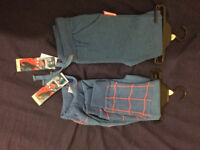 4-5 Years;blue Spider-Man leggings-2 pairs (bundle of clothes-surplus)-from smoke free home