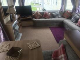 Luxury caravans for hire Craig Tara holiday park