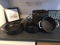 Cuisinart pots and pans with lids
