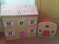 Doll house & farm house