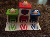 Tiny emergency cars toy