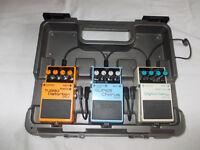 Boss Guitar Foot-Pedals & Case