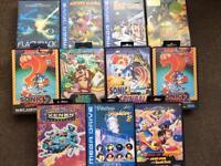 Sega MegaDrive Games 11 In Total