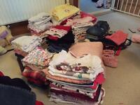 Bundle of 9-12 months girl clothes