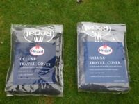Regal large deluxe travel cover bag for golf clubs and bag