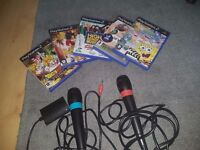 playstation 2 games and singstar mics PS2 antrim
