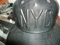 Mans Leather cap