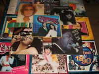 RECORDS, OVER 40 ALBUMS + OVER 50 SINGLES MIXED STYLES
