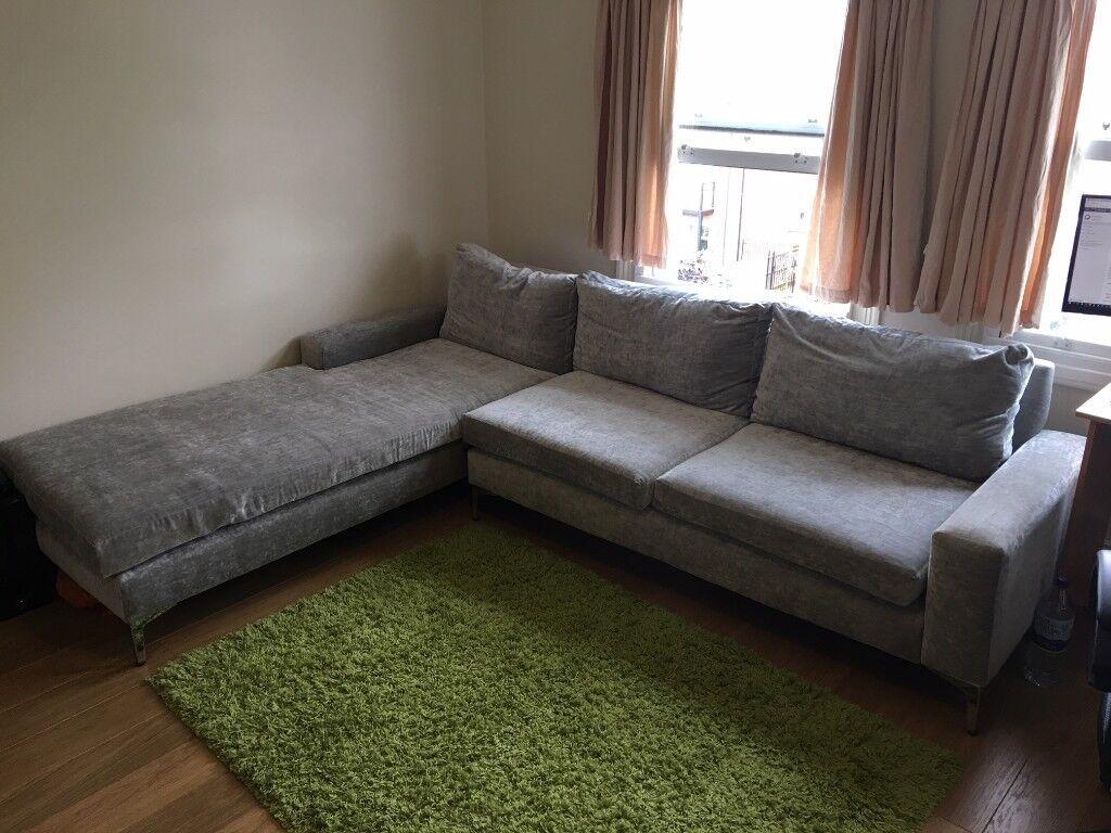 Large Comfortable Sofa Corner 4 Seats