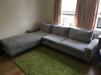 Large comfortable sofa corner bed 4 seats