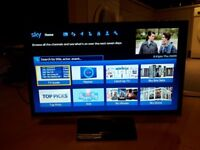 2015 SAMSUNG 22 INC SLIMLINE 1080p LED DIGITAL FREEVIEW TV WITH REMOTE FREE LOCAL DELIVERY