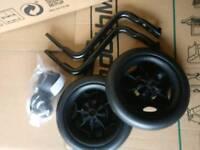 Specialized side wheels