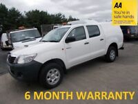 Toyota Hilux 2.5 D-4D 144 HL2 4WD**12 MONTH MOT**FULL SERVICE HISTORY**LEASE Co DIRECT**