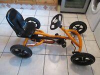 Berg Buddy Go Kart Ride On Pedal Go Kart Orange