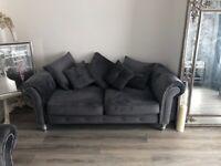 Olympia plush 3&2 seat sofa