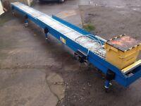 Motorised/powered Roller Conveyor - 6 Meters- Speed control - SINGLE PHASE