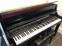 Roland LX15E Upright Piano with Stool
