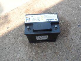 Varta Car battery 12v, full charger