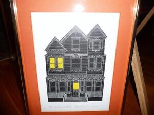 "American Jonathan Talbot ""Park Avenue Victorian"" 1975, Signed Stratford Kitchener Area image 1"