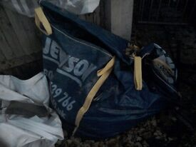 Free DRY topsoil in jewson bag and covered NEED GONE asap