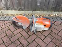 Stihl TS400 petrol stone saw/cutter