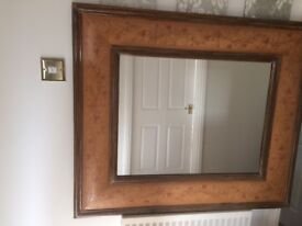A Beautiful Mirror, Very Good Quality, Heavy With A Lovely Design.