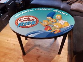 The Simpsons Childrens Kids Wooden Table Desk