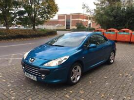 2006 Peugeot 307cc 2.0hdi new mot!!! Open to part exchange offers