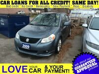 2009 Suzuki SX4 * GAS SAVER * SPORTY LOOK