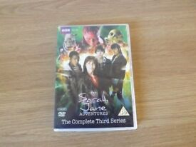 Sarah Jane Aventures - The Complete Third Series - 2 DVD Set