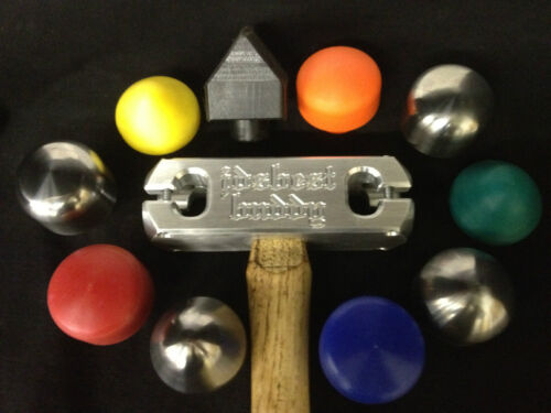 Hammers - English Wheels Hand Hammer with UHMW/STEEL  Heads