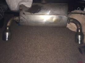 Milltek Ford Focus ST225 Resonated Cat-back
