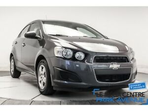 2013 Chevrolet Sonic LT, DEM. A DISTANCE, A/C, BANCS, CHAUF