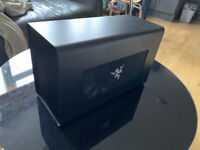 Razer Core X - Used for 10 mins only, original packaging, cables