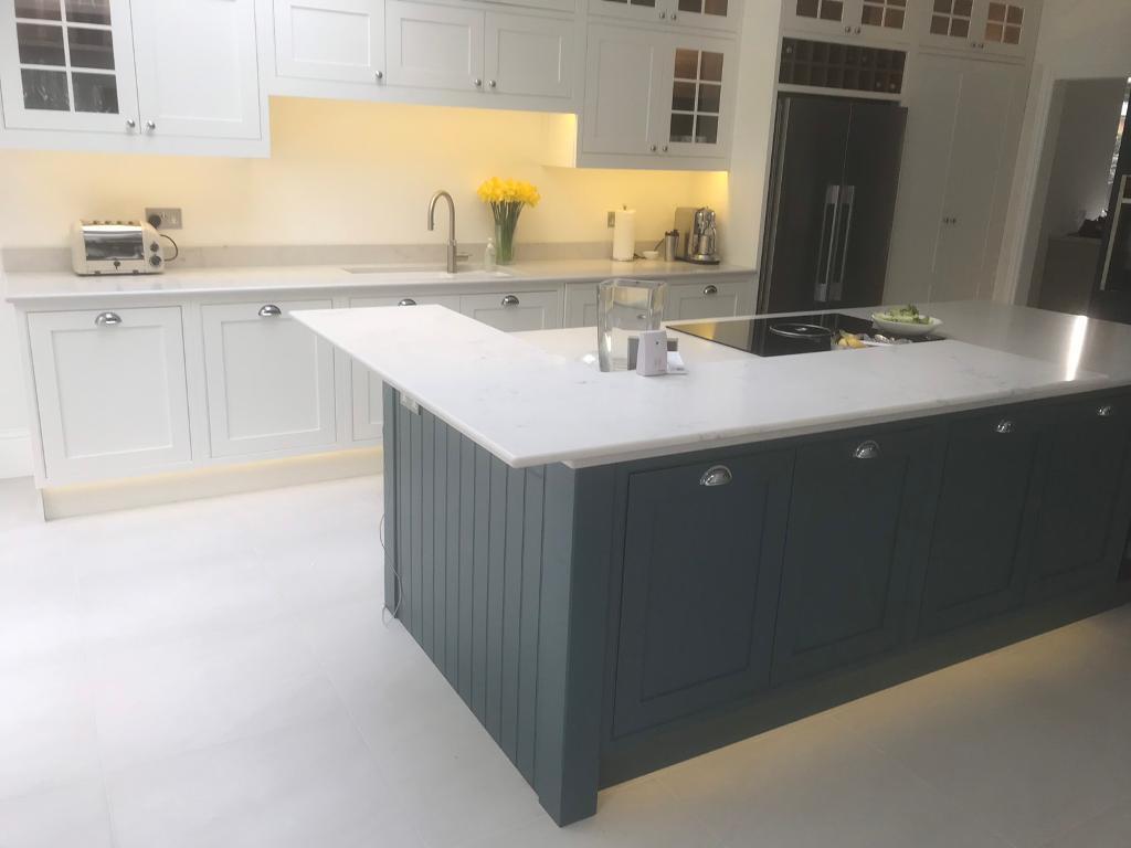 Quartz Granite Marble Kitchen Worktops Fireplace Offcut Cut To Size Gl Splashback In Chertsey Surrey Gumtree